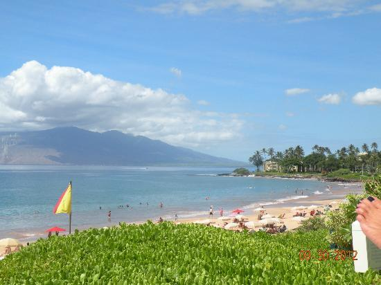 Four Seasons Resort Maui at Wailea: view from beach