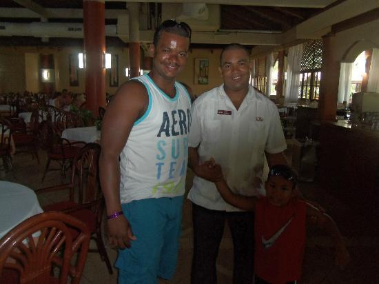 Grand Palladium Punta Cana Resort & Spa: Us with our Friend Milvio..