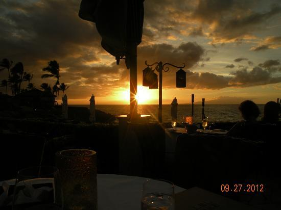 Four Seasons Resort Maui at Wailea: view from dinner at Ferraro's