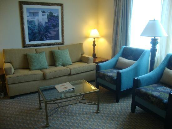 Marriott's Grande Vista: Living Room