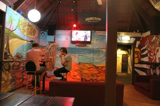 Frasers On Rainbow Beach: Another area at Frasers where patrons can drink and relax