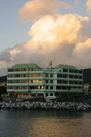 Garraway Hotel: Ocean view