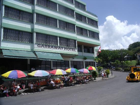 Garraway Hotel: Frontal view