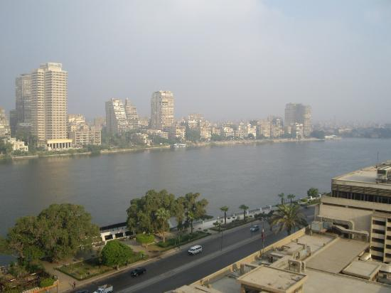 Conrad Cairo: The view from my balcony