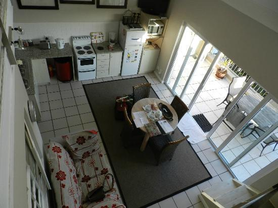 Guadeloupe Self Catering Apartments: comedor