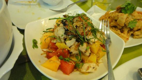 Lemon Grass: rice toppings