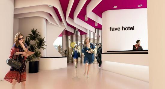 Favehotel Pluit Junction Lobby