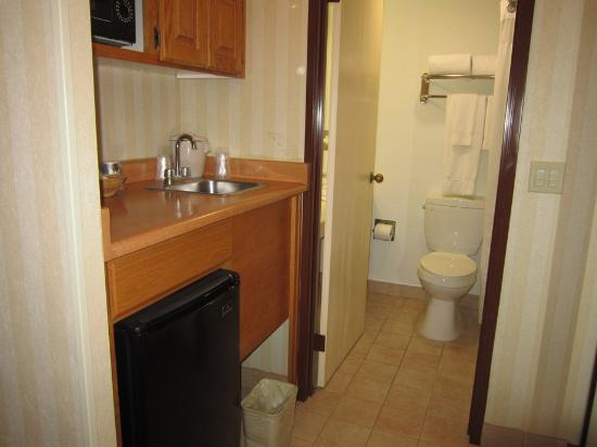 Central Inn & Suites: bathroom