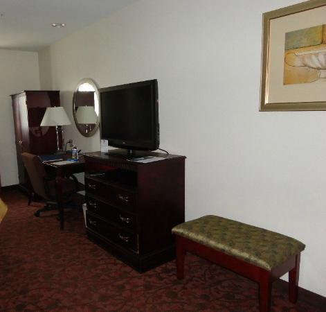 Comfort Inn & Suites Airport Dulles-Gateway: Desk area