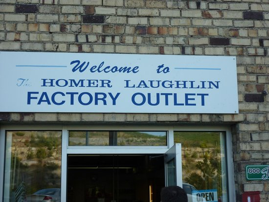 Homer Laughlin China Company Factory & Fiesta Tent Sale - Review of Homer Laughlin China Company Factory ...