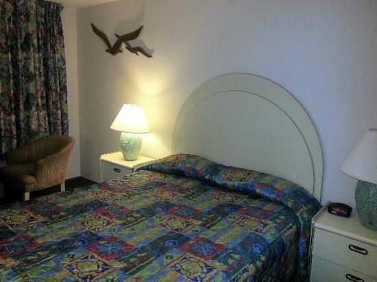 Terimore Lodging by the Sea: Sparsely decorated room 22