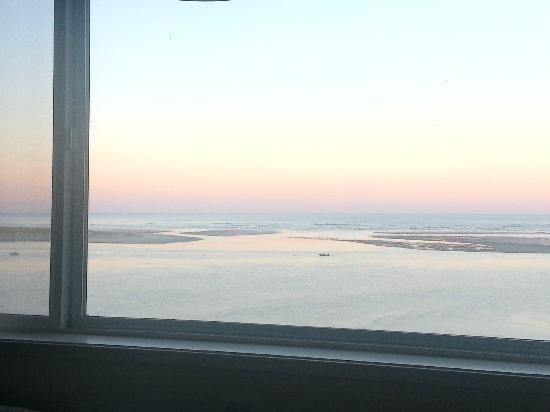 Terimore Lodging by the Sea: View from Room 22 at dawn