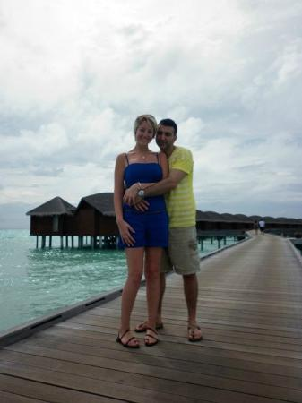 Anantara Veli Maldives Resort: Over water Bungalows