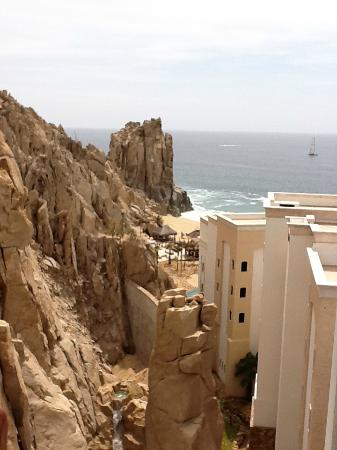 Grand Solmar Land's End Resort & Spa: from top floor looking at backside of Arch