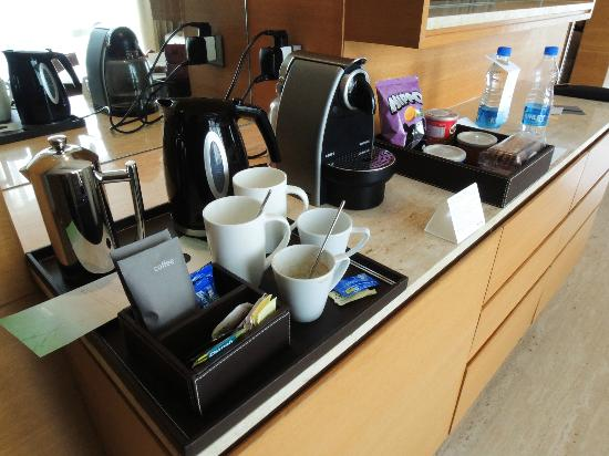 The Westin Mumbai Garden City: Nespresso machine