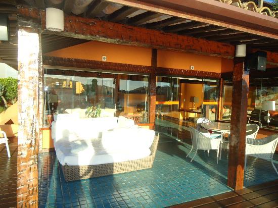 Hotel Ferradura Private: Área de descanso