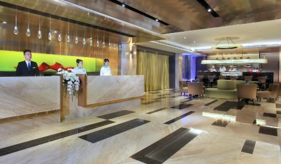 Park City Hotel-Central Taichung: 接待大廳