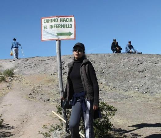 Marcahuasi, camino al Infiernillo