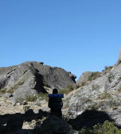 Marcahuasi, Formación rocosa: Rostro del Inca