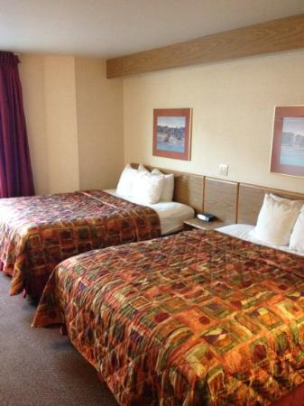 Sleep Inn Moab: beds