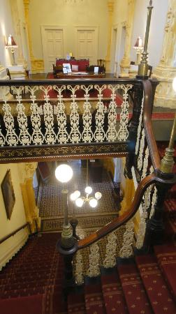 Rupertswood Mansion: Inside stairway
