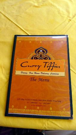 Curry Tiffin menu