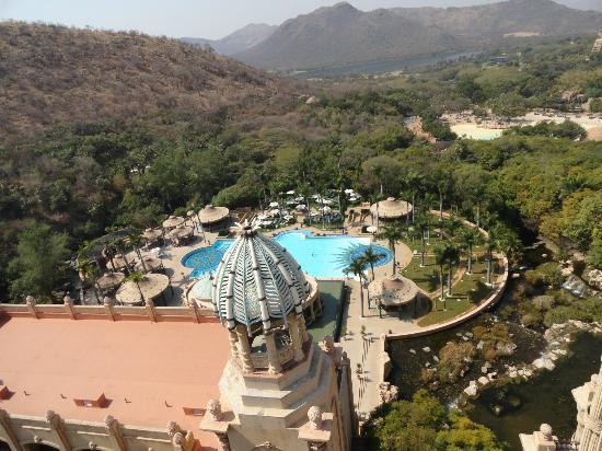 The Palace of the Lost City: Amazing view from the palace top