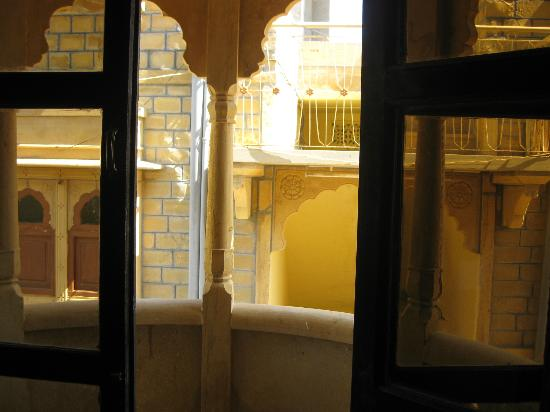 Hotel Nirmal Haveli: View out of the window