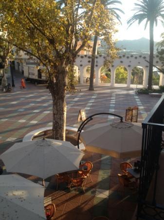 Hostal Marissal: balcon