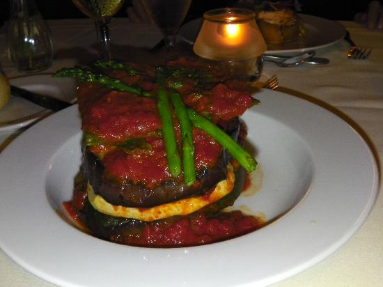 Odyssey Cruises : Not-so-good vegetarian meal