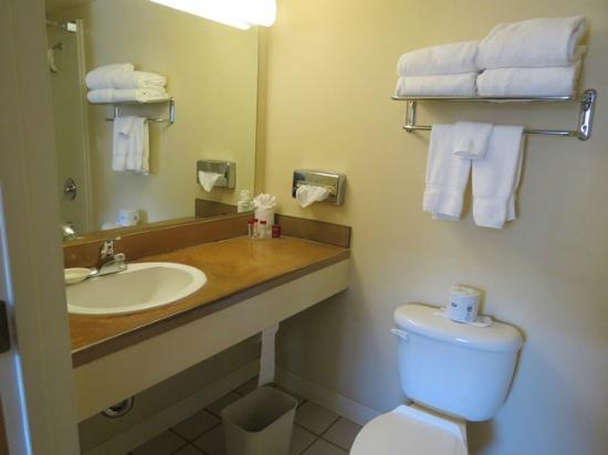 Ramada Anchorage: Bathroom- free amenities