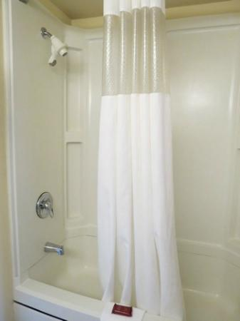 Ramada Anchorage: Shower- water sometimes goes cold before going back to warm again.