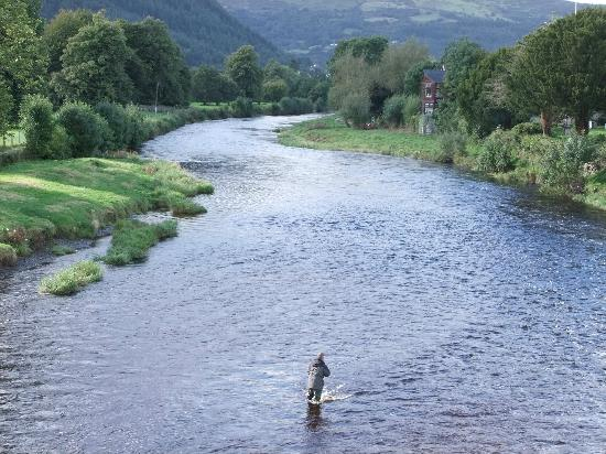 Tu Hwnt I'r Bont: The River Conwy is great for anglers