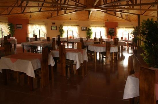 Blue Nile Inn Makeni: Upstairs Restaurant