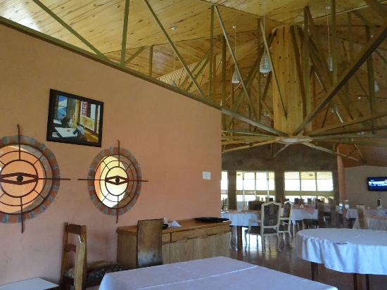 Blue Nile Inn Makeni : Another angle Upstairs Restaurant