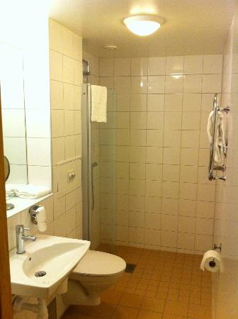 Scandic Malmo City : Room 566, bathroom
