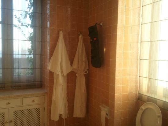 As Janelas Verdes: particolare del bagno