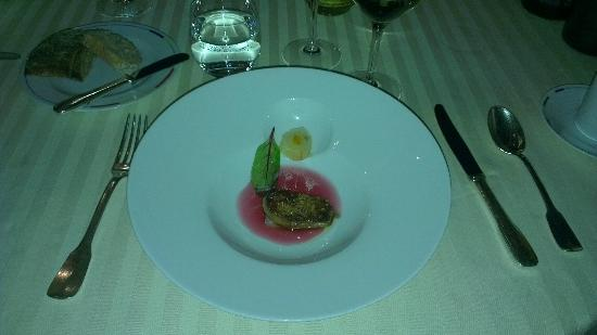 Restaurant Guy Savoy : Le foie gras