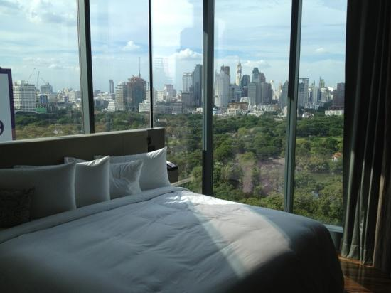 Sofitel So Bangkok: lovely view from a corner room!