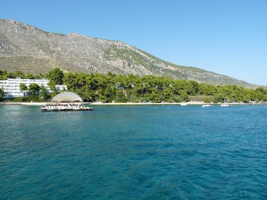 Club Med Gregolimano: Ponton arrivée départ
