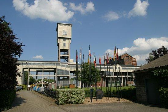 Blegny, Bélgica: Vue de la belle - fleur, de la recette et du triage lavoir