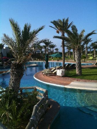 Hasdrubal Prestige Thalassa & Spa : Une partie de la piscine