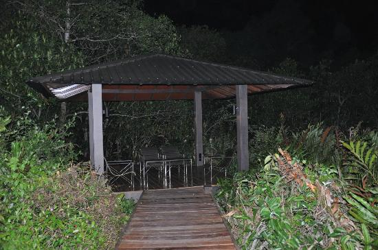 Jetwing Kurulubedda: We had our dinner here
