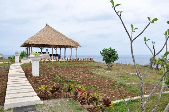 The Point Resort Lembongan: Newly built rotunda (would be great for small functions)