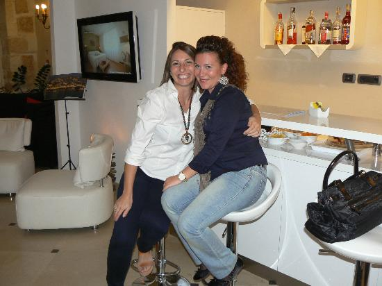 Hotel Borgo Pantano: ALICE ... la più simpatica Receptionist