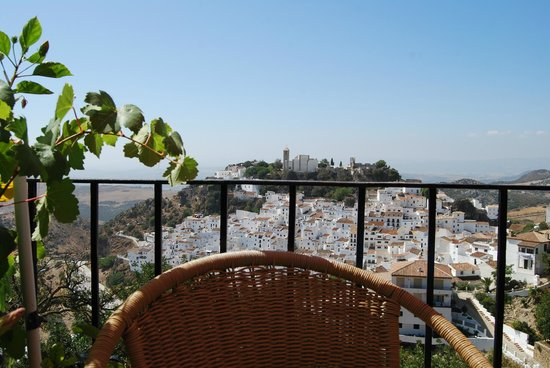 View of Casares from Restaurante La Terraza