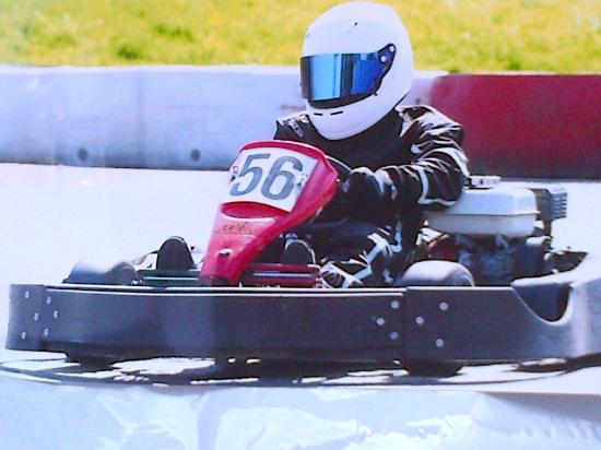 Timothy @ Brentwood Karting