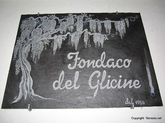 Fondaco del Vecchio Glicine: il glicine