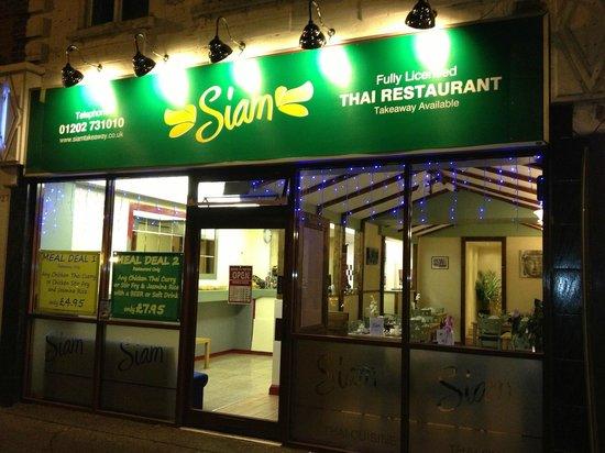 Siam Thai Restaurant: Restaurant Front