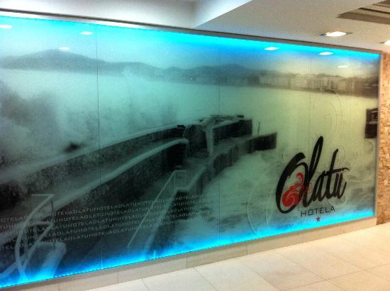 Hotel Olatu: Reception